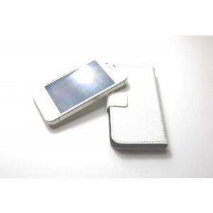 iLeather plånbok för iPhone 4 & 4s, vit